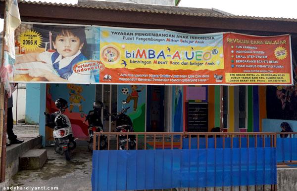 biMBA AIUEO Lombok