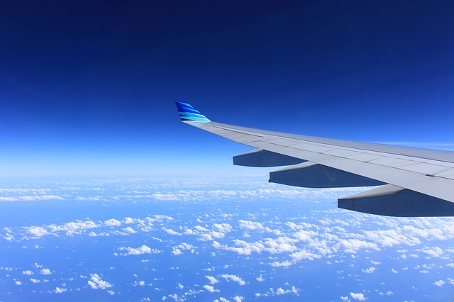 mudik menggunakan pesawat terbang