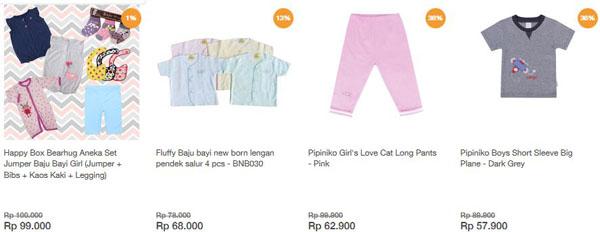 belanja perlengkapan bayi