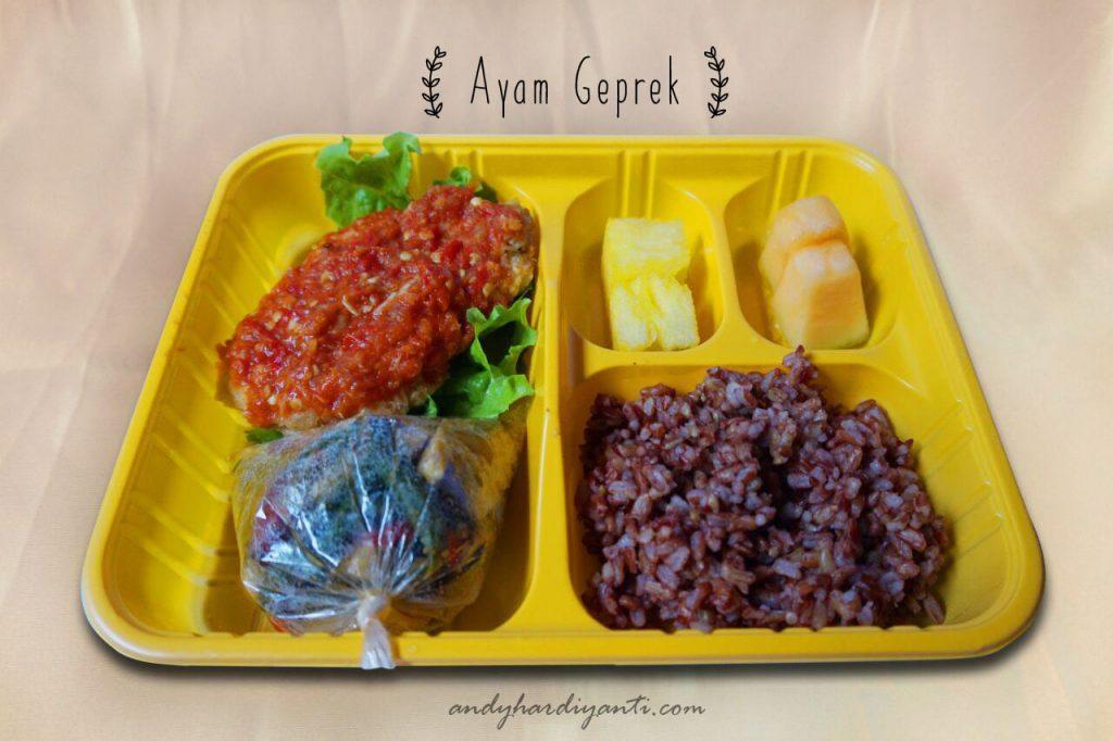 catering sehat dan enak di lombok